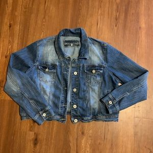 Maurices jean jacket size 2